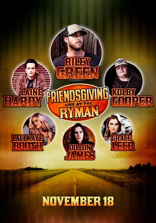 Friendsgiving Live At The Ryman